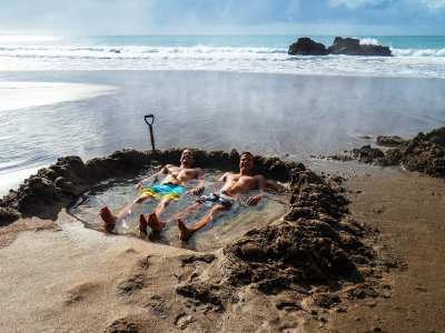 Dig your own thermal pool in Auckland