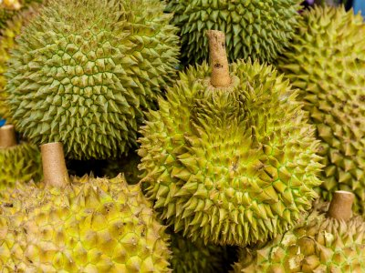 Try durian in Phuket