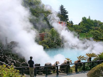 See the Nine Hells of Beppu in Fukuoka