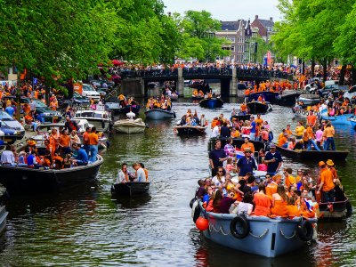 Celebrate King's Day in Amsterdam