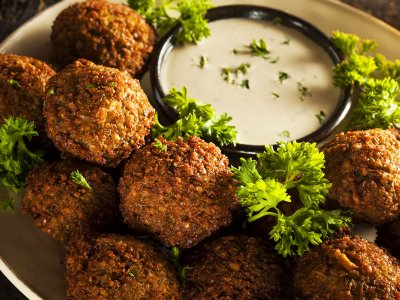 Try Falafel in Jerusalem