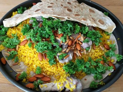 Try mansaf in Amman