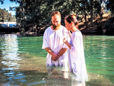 Swim in the Baptism Site of Jesus Christ in Amman