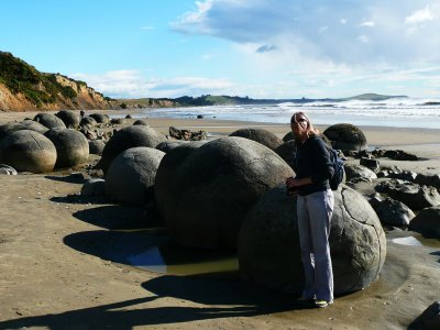 See the Moeraki Boulders in Otago