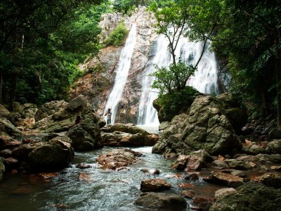 Swim in Na Mueng 2 Waterfall on Koh Samui
