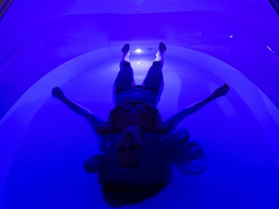 Relax in a float chamber in Bangkok