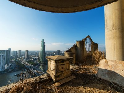 Climb the Ghost Tower in Bangkok