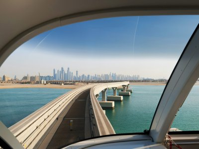 Ride the subway without a driver in Dubai