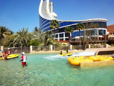 Drift down the Lazy River in Dubai