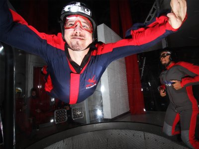 Fly in a wind tunnel in Dubai