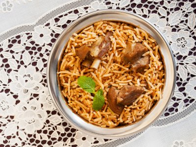 Try biryani in Dubai