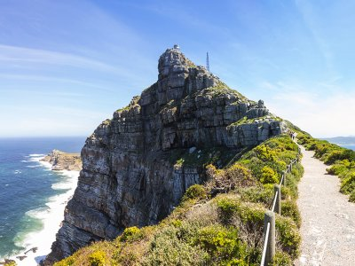 Visit the lighthouse at the Cape of Good Hope in Cape Town