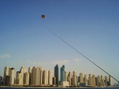 Try parasailing in Dubai