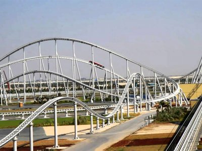 Ride the most speedy roller coaster in the world in Abu Dhabi