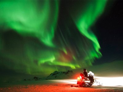 See the Northern Lights, or Aurora Borealis. in Reykjavik