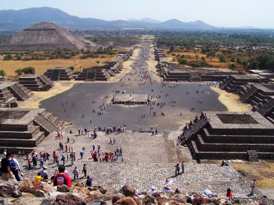Climb to the top of Pyramid of the Sun in Mexico City