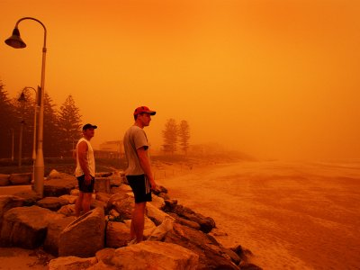 See a sandstorm in Sydney