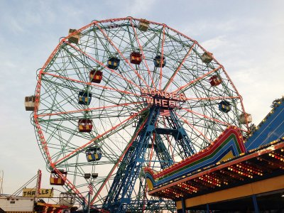 Ride the Wonder Wheel in New York