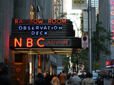 See the work of the NBC television network from within in New York