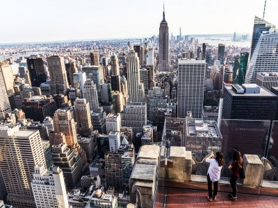See Manhattan's panoramic view in New York