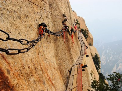 Walk the Trail of Death in Weinan