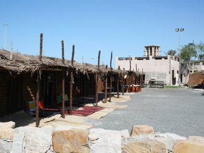 See the old Arab village in Dubai