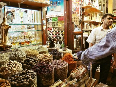 Visit the oldest spice market in Dubai in Dubai