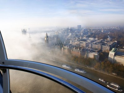 Take a ride on the London Eye in London