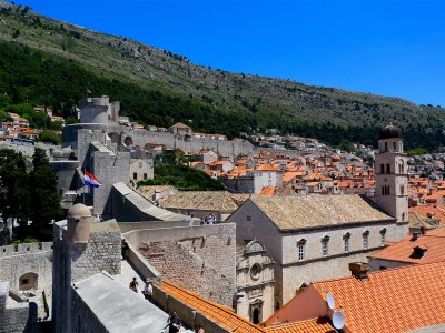 Walk atop the City Walls of Dubrovnik in Dubrovnik