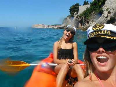 Enjoy sea kayaking in Dubrovnik
