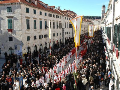 Visit the Festivity of Saint Blaise in Dubrovnik
