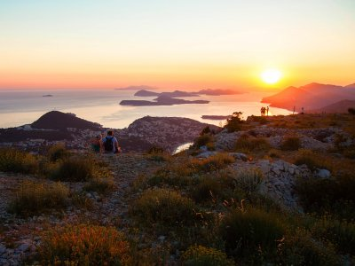Have a picnic on top of the Srđ mountain in Dubrovnik