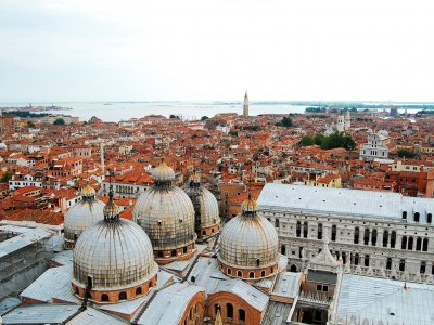 Climb the Campanile of the St. Mark's Basilica in Venice