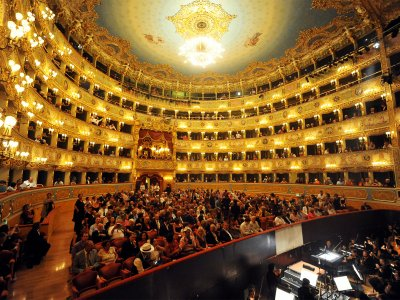 Listen to opera at La Fenice in Venice