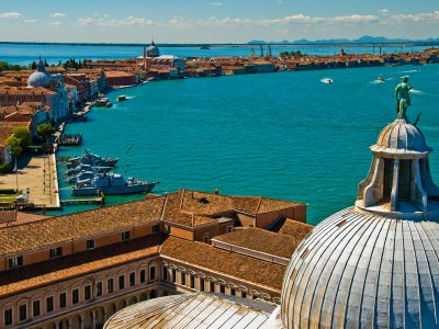 Climb the bell tower of the Church of San Giorgio Maggiore in Venice