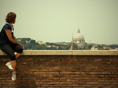 Admire Rome from the Aventine Hill in Rome