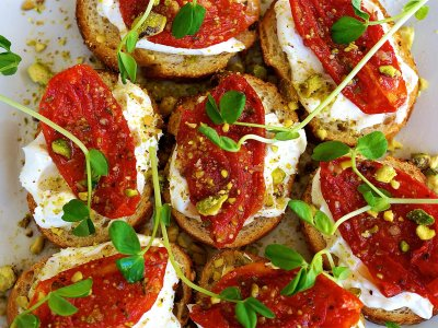 Try bruschetta in Rome