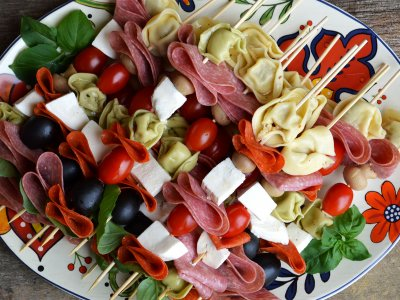 Try antipasto in Rome