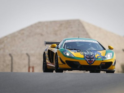 Drive a thoroughbred McLaren Racing Machine in Dubai