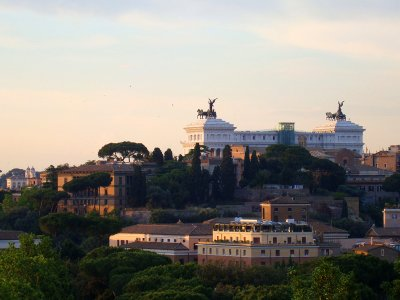Climb the Janiculum hill in Rome