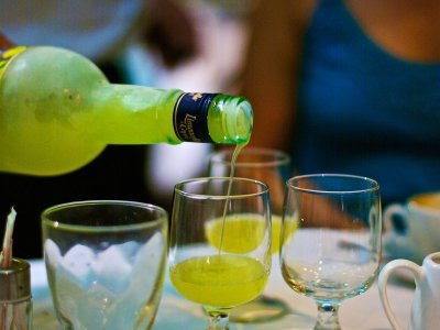 Try limoncello in Sicily