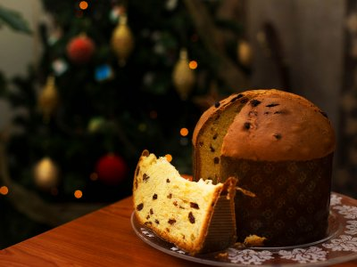 Try panettone in Milan