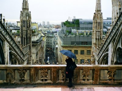 Climb to the roof of Cathedral in Milan