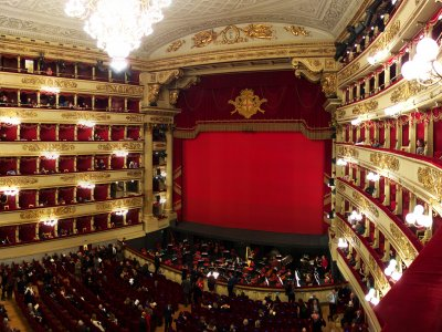 Listen to opera at La Scala in Milan