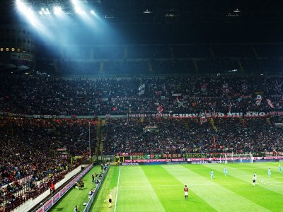 Watch football at the San Siro stadium in Milan