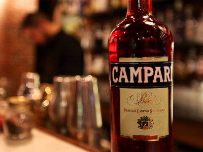 Try campari in Milan