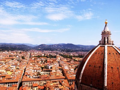 Climb to the dome of the cathedral in Florence