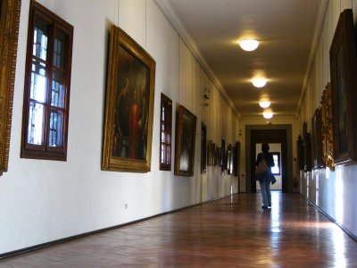 Walk through the Vasari Corridor in Florence