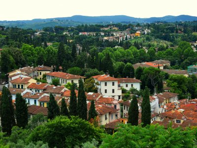 See the panorama of the city from the Boboli Gardens in Florence