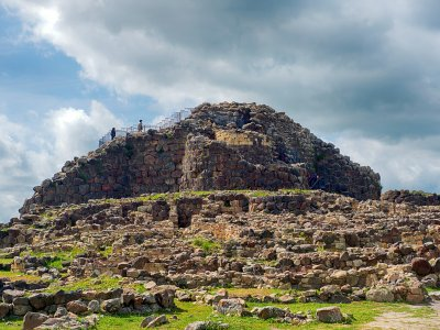 See Nuraghe - ancient structure of an unknown civilization on Sardinia